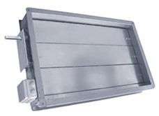 Клапаны с подогревом для прямоугольных воздуховодов СВК-НС